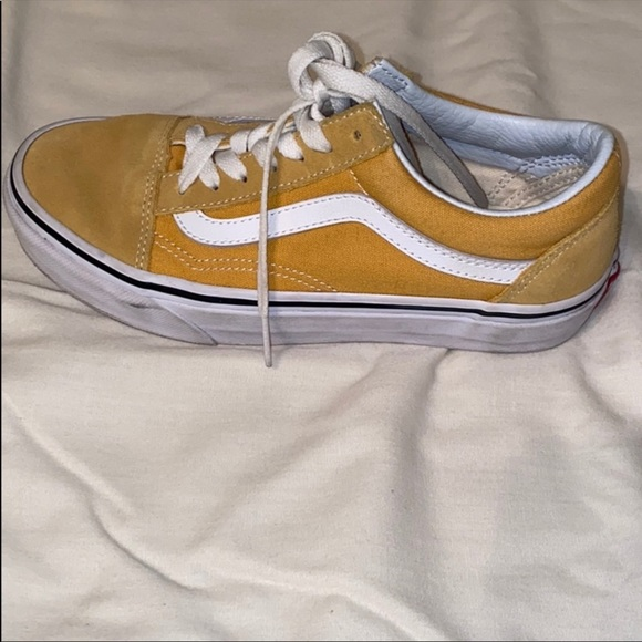 skool old skool yellow skool yellow vans yellow old old vans